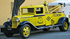 truckingworldwide:  1934 Ford wrecker