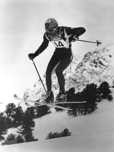 """John Claude Killy Lake Tahoe """"Killy Challenges"""" This pic is from the olympics tho"""