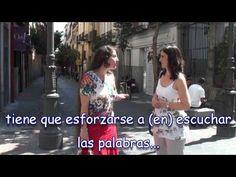 Spanish Lesson - Subjuntivo - Cómo expresar recomendaciones - YouTube