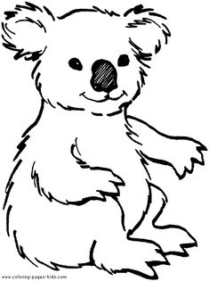 Big Coloring Pages Of Animals | ... coloring pages and sheets can be found in the Zoo Animals color page