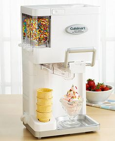 Cuisinart ICE-45 Ice Cream Maker, Soft Serve Mix-it-In - More Electrics - Kitchen - Macys