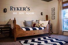 Rykers New Big Boy Room