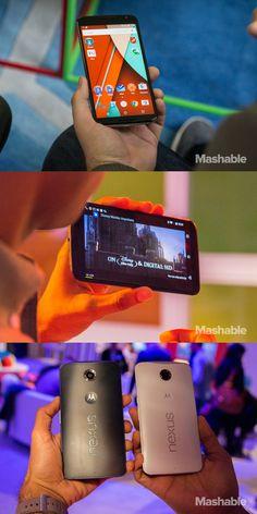 The Google Nexus 6.