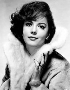 American film and television actress Natalie Wood. A child star, she received 3 Academy award nominations before she turned 25.