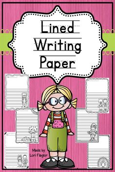 This is the Ultimate Lined Paper Collection! It contains 123 pages of adorable borders and graphics perfect for any elementary teacher. 3 choices of pages are provided. Check it out!