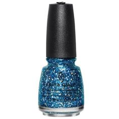 China Glaze Star Hopping Collection Can You Sea Me? from the Star Hopping Collection by China Glaze. A blue and silver glitter blend with large holographic glitter. Nothing says the perfect nail like