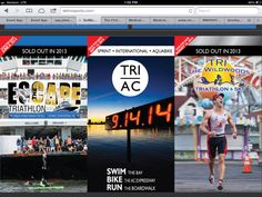 Awesome triathlon events at the Jersey Shore for 2014!!! Go #delmosports!