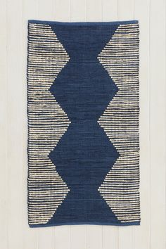 Magical Thinking Blue Diamond Rug #urbanoutfitters (#Anthropologie #PinToWin)