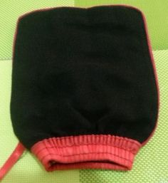 Moroccan Exfoliating Mitt-Kessa £4.50  This October 2013 you can buy 2 for £8.00!!!  This is the highest quality of mitt found in Morocco.   Best used with Bledi to get the cleanest benefit  Can be used with other products too.