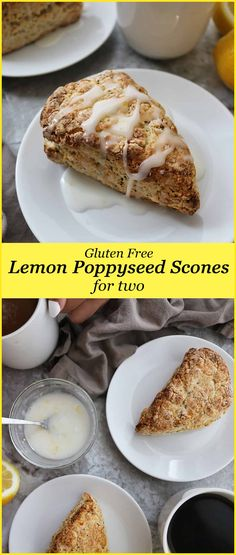 These Gluten Free Lemon Poppyseed Scones consist of 11 ingredients and are so easy to make. Just mix all your dry ingredients and then mix the wet ingredients into the dry ones. Top Recipes, Crockpot Recipes, Chicken Recipes, Potato Recipes, Casserole Recipes, Pasta Recipes, Healthy Dessert Recipes, Delicious Desserts, Breakfast Recipes