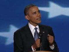 The president offers up the most pointed words on climate change he's uttered in years in his speech at the Democratic National Convention.