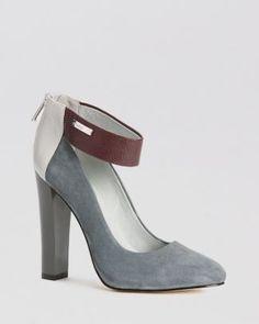 Calvin Klein Pumps - Ariel Ankle Strap High Heel  Bloomingdale's