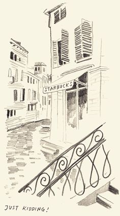 Christopher Niemann draws his 72 hours in Venice for its beinnale