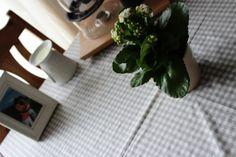 *DIY* Eine Tischdecke nähen und ihre Ecken!