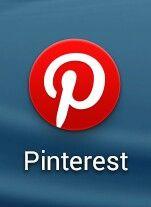 Het logo van pinterest is ook rood