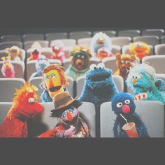 The Muppets and Sesame Street Characters!