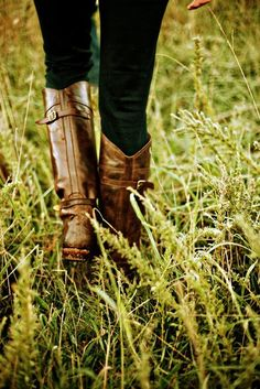 every girl needs that perfect pair of riding boots!
