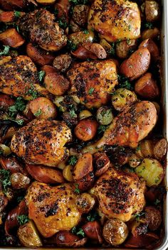 Spanish Chicken with Chorizo and Potatoes …one of the chicken recipes in my latest ... Do The Funky Chicken (Part 3) creative chicken recipes made healthy
