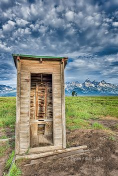 Outhouse on Mormon Row | Flickr - Photo Sharing!