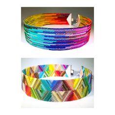 Diy Bracelets And Anklets, Beaded Braclets, Seed Bead Bracelets, Bead Earrings, Beaded Jewelry, Loom Bracelet Patterns, Bead Loom Patterns, Peyote Patterns, Seed Beads