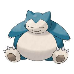 Snorlax's typical day consists of nothing more than eating and sleeping. It is such a docile Pokémon that there are children who use its expansive belly as a place to play.