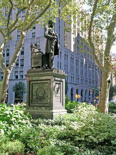 Madison Square Park & Vicinity - New York City, New York - Chester Allan Arthur Memorial