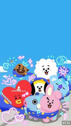 Check out this awesome collection of wallpapers, with 39 wallpaper pictures for your desktop, phone or tablet. Army Wallpaper, Bts Wallpaper, Iphone Wallpaper, Bts Chibi, Bts Pictures, Photos, Line Friends, Billboard Music Awards, Bts Lockscreen