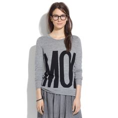 Madewell MOI Pullover Sweater Ultra-soft, extrafine merino wool. A relaxed shape. This is one pullover that speaks for itself. •Merino wool. Madewell Sweaters
