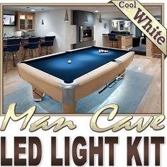 Biltek-164-ft-Cool-White-Man-Cave-Bar-Pool-Table-LED-Lighting-Strip-Dimmer-Remote-Wall-Plug-110V-Sports-Memorabilia-Bar-Theatre-TV-Liquor-Cabinet-Wine-Cellar-Dart-Board-Waterproof-110V-220V-0
