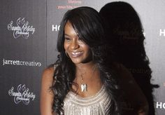 "Bobbi Kristina Brown attends the opening night of ""The Houstons: On Our Own"" in New York, in this fi... - REUTERS/Andrew Kelly"