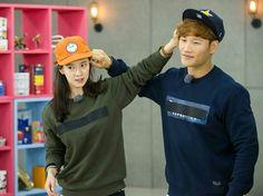 Song Ji Hyo and Kim Jong Kook, Running Man ep. 327