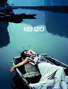 Tasha Tilberg by Yelena Yemchuk for Kenzo S/S 06
