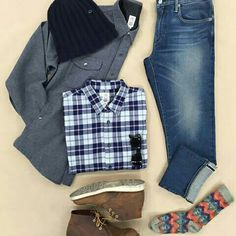 Outfit grid - Autumn stroll