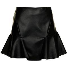 flip skirt Cotton On ❤ liked on Polyvore
