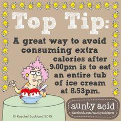 Try it, it really works... #AuntyAcidWOW