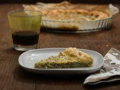La cucina di Esme: Una quiche romanizzata ... mammole, mentuccia e pecorino