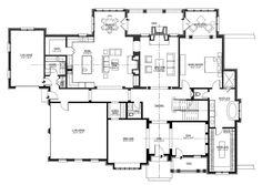 152-1004: Floor Plan First Story