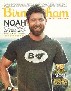 Birmingham Magazine May 2016 cover - Noah Galloway