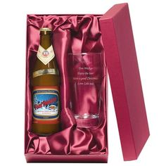 Personalised Christmas Wheat Beer Gift Set  from Personalised Gifts Shop - ONLY £29.95