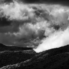 Most rising over the Brindabellas -from 'brindabellas | autumn' - see more @ http://silverdory.com/brindabellas-elements #canberra #infrared
