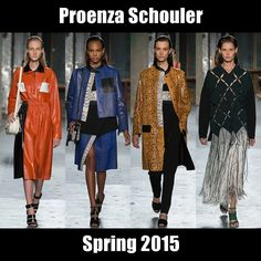 #ProenzaSchouler's take on American sportswear is astonishing. The full report here: http://socksnbirkenstocks.blogspot.com/2014/09/nyfw-ss15-pt7-michael-kors-hugo-boss.html #NYFW #SS15