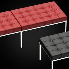 Florence Knoll Bench - 3D furniture model - Use PROMO CODE: pin3d and get 20% off - $8.00