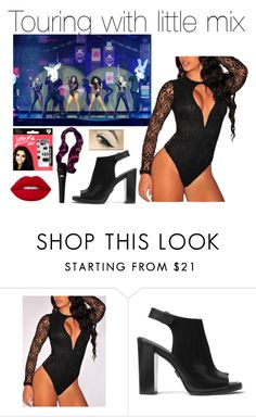 """""""Untitled #342"""" by littleharmonythedirection ❤ liked on Polyvore featuring WithChic, Michael Kors and Lime Crime"""
