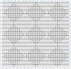 Harlequin Tapestry crochet chart by lebenslustiger.com