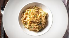 100 best dishes in New York: Sea urchin bucatini at All'onda
