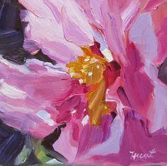 Linda Hunt Fine Art: Pink Peony Day 29