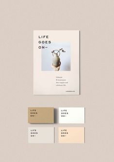 Life Goes On — Oh Babushka - corporate branding identity Identity Design, Design Brochure, Logo Design, Graphic Design Branding, Visual Identity, Layout Design, Web Design, Print Design, Minimal Graphic Design