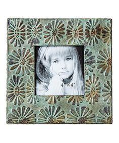 Another great find on #zulily! 7.5'' Pressed Tin Frame #zulilyfinds