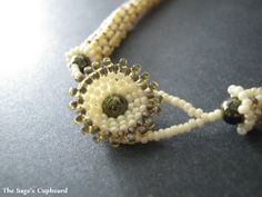 *How to cap and finish a Herringbone Rope with Button Clasp