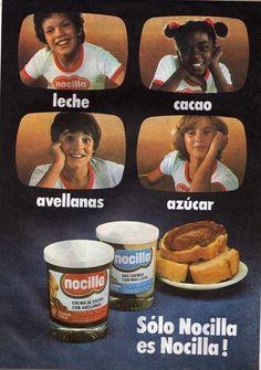 Leche, cacao, avellanas y azúcar... NOCILLA!!